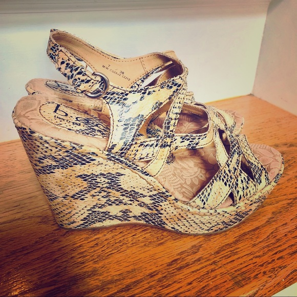 boc Shoes - BOC Born Wedges